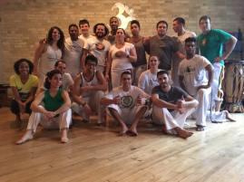 Roda de Amigos at Capoeira Nagô Milwaukee's academy! Thank you Graduado Arrepiado for having us!!